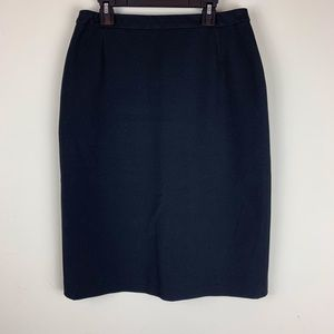 MaxMara Weekend Women's Black Career Skirt Size 6